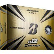 Bridgestone E12 Contact white 12-pack piłki golfowe