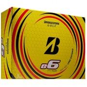 Bridgestone E6 yellow 12-pack piłki golfowe