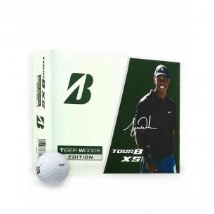 Piłki golfowe Bridgestone Tour B XS Tiger Woods Edition 12-pack
