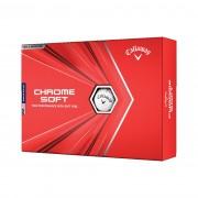Piłki golfowe Callaway Chrome Soft 12-pack