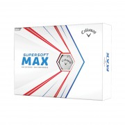 Callaway Supersoft Max white 12-pack piłki golfowe