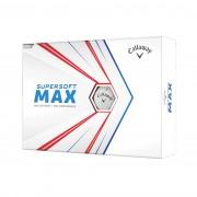 Callaway Supersoft Max white 12-pack piłki golfowe