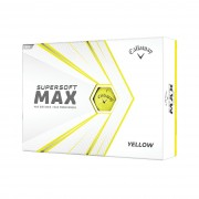Callaway Supersoft Max yellow 12-pack piłki golfowe