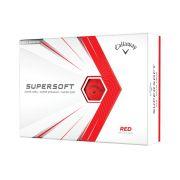 Piłki golfowe Callaway Supersoft red 12-pack (czerwone)
