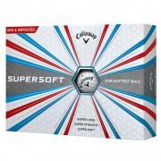 Callaway Supersoft 12-pack (białe i żółte)