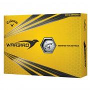 Callaway Warbird HEX 12-pack (białe i żółte) piłki golfowe