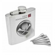 Colin Montgomerie Hip Flask and Tees