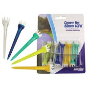 Crown Tee 10pack (63mm)