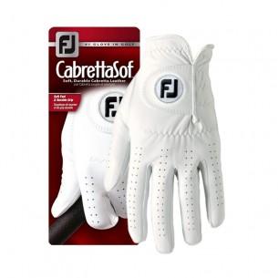 Footjoy CabrettaSof white rękawiczka golfowa