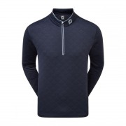 FootJoy Diamond Quilted Chill Out Pullover navy bluza golfowa