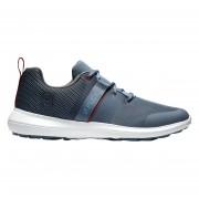Footjoy Flex steel blue/red buty golfowe