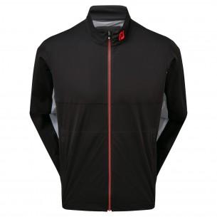 Footjoy HydroKnit Jacket black/grey/red kurtka golfowa