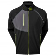 Footjoy HydroTour Jacket black golfowa kurtka przeciwdeszczowa