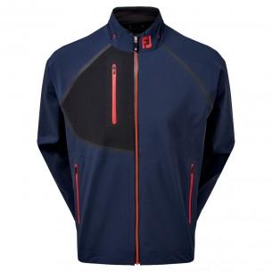 Footjoy HydroTour Jacket navy golfowa kurtka przeciwdeszczowa