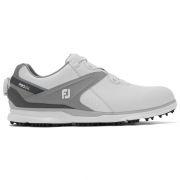 Footjoy Pro SL BOA white/grey buty golfowe