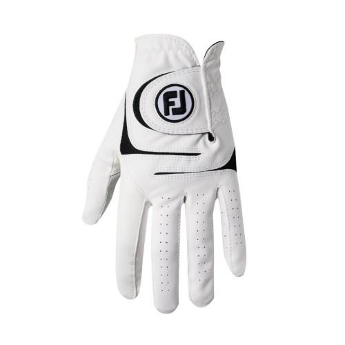 dd40b828f947ce FootJoy WeatherSof white rękawiczki golfowe - BogiGolf.com.pl