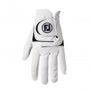 FootJoy WeatherSof white rękawiczki golfowe