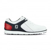 Footjoy Pro SL white/navy/red buty golfowe
