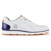 Footjoy Pro SL white/navy/orange buty golfowe