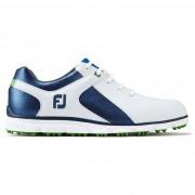 Footjoy Pro SL white/blue/green buty golfowe