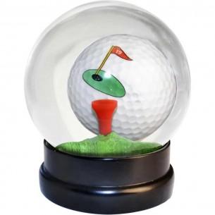 Golf Globe Game szklana kula z piłką golfową