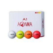 Piłki golfowe Honma A1 12-pack (kolorowe)