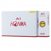 Piłki golfowe Honma A1 12-pack (żółte)