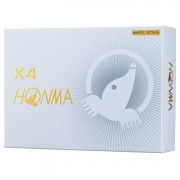 Honma X4 white 12-pack piłki golfowe
