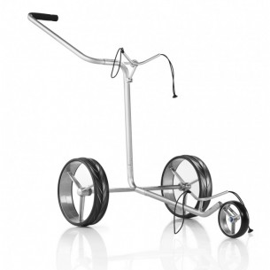 JuCad Edition Stainless Steel 3-wheel wózek golfowy