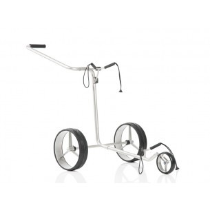 Wózek golfowy JuCad Edition Stainless Steel 3-wheel