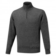 Mizuno Windproof Jumper grey ocieplany sweter golfowy