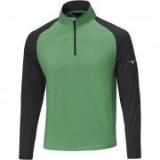 Mizuno Quick Dry Breeze 1/4 Zip green bluza golfowa
