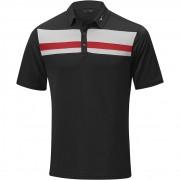 Mizuno Quick Dry Citizen Polo black koszulka golfowa