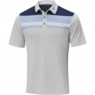 Mizuno Quick Dry Citizen Polo grey koszulka golfowa