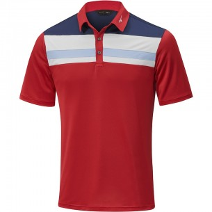 Mizuno Quick Dry Citizen Polo red koszulka golfowa