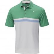 Mizuno Quick Dry Horizon Polo green koszulka golfowa