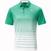 Mizuno Quick Dry Mirage Polo green koszulka golfowa
