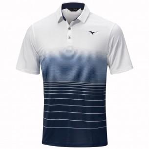 Mizuno Quick Dry Mirage Polo white koszulka golfowa