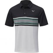 Mizuno Quick Dry Oceanic Polo black koszulka golfowa