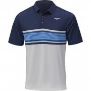 Mizuno Quick Dry Oceanic Polo navy koszulka golfowa