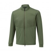 Mizuno Move Warmer Hybrid Jacket green kurtka ocieplana