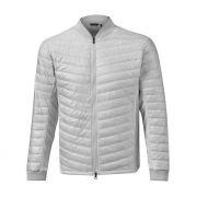 Mizuno Move Warmer Jacket silver kurtka ocieplana
