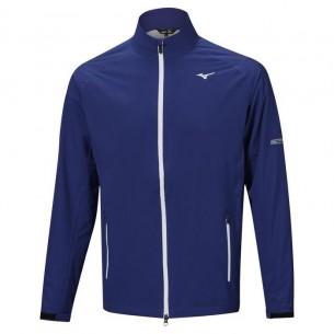 Mizuno Nexlite 2.0 Rain Jacket blue golfowa kurtka przeciwdeszczowa