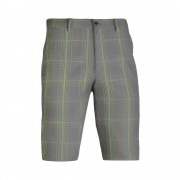 Mizuno Fineline Check Short charcoal