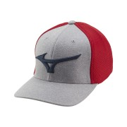 Mizuno Fitted Meshback Cap czapka golfowa