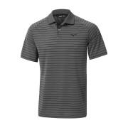 Mizuno Quick Dry Stripe Polo black