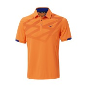Mizuno Solar Cut Polo orange