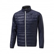 Mizuno Move Tech Jacket deep navy kurtka ocieplana