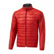 Mizuno Move Tech Jacket red kurtka ocieplana