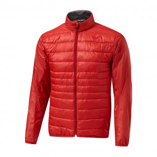 Mizuno Move Tech Jacket red kurtka ocieplana